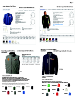 QCCC Apparel Winter catalogue pg 1