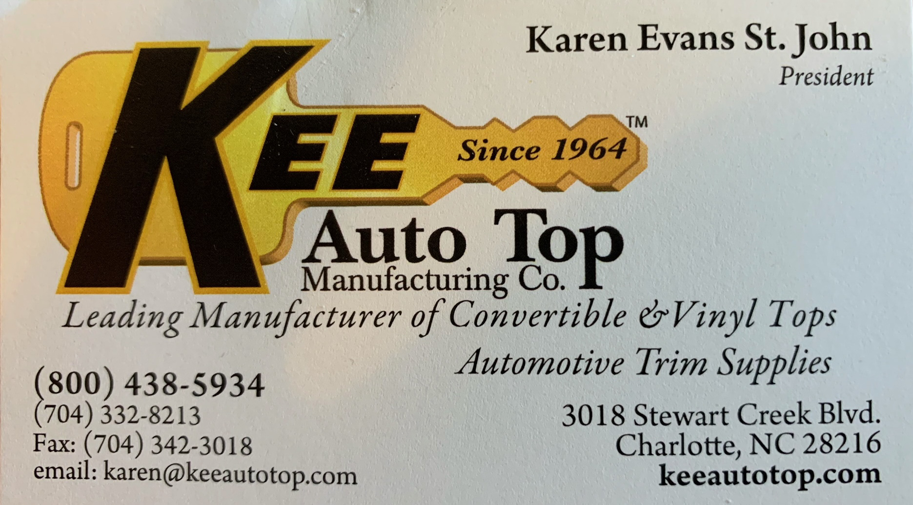 kee auto top BC